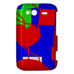 Abstract hart HTC Wildfire S A510e Hardshell Case