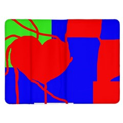 Abstract hart Kindle Fire (1st Gen) Flip Case