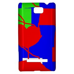 Abstract hart HTC 8S Hardshell Case