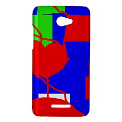 Abstract hart HTC Butterfly X920E Hardshell Case