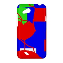 Abstract hart HTC Desire VC (T328D) Hardshell Case