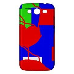 Abstract hart Samsung Galaxy Mega 5.8 I9152 Hardshell Case
