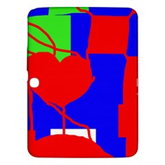 Abstract hart Samsung Galaxy Tab 3 (10.1 ) P5200 Hardshell Case