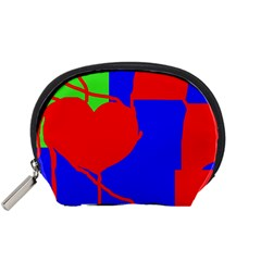 Abstract hart Accessory Pouches (Small)