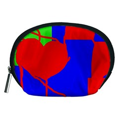 Abstract hart Accessory Pouches (Medium)