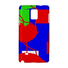Abstract hart Samsung Galaxy Note 4 Hardshell Case