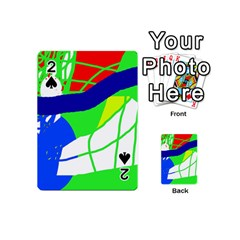 Colorful abstraction Playing Cards 54 (Mini)