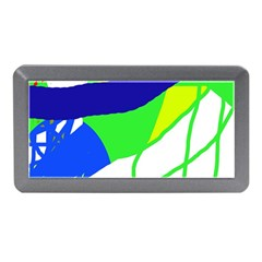 Colorful abstraction Memory Card Reader (Mini)