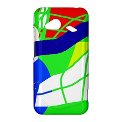 Colorful abstraction HTC Droid Incredible 4G LTE Hardshell Case