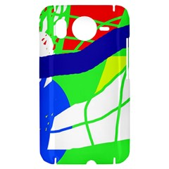 Colorful abstraction HTC Desire HD Hardshell Case