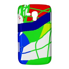 Colorful abstraction Samsung Galaxy Duos I8262 Hardshell Case