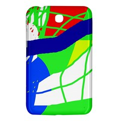 Colorful abstraction Samsung Galaxy Tab 3 (7 ) P3200 Hardshell Case