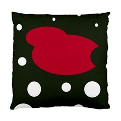 Red, black and white abstraction Standard Cushion Case (Two Sides)