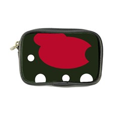 Red, black and white abstraction Coin Purse