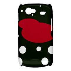 Red, black and white abstraction Samsung Galaxy Nexus S i9020 Hardshell Case