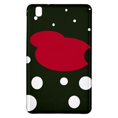 Red, black and white abstraction Samsung Galaxy Tab Pro 8.4 Hardshell Case