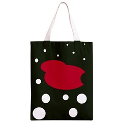 Red, black and white abstraction Classic Light Tote Bag