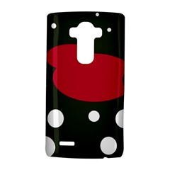 Red, black and white abstraction LG G4 Hardshell Case