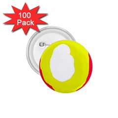 Colorful abstraction 1.75  Buttons (100 pack)
