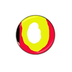 Colorful abstraction Hat Clip Ball Marker