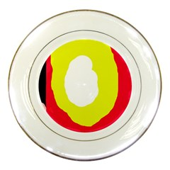Colorful abstraction Porcelain Plates