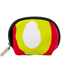 Colorful abstraction Accessory Pouches (Small)