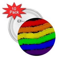 Rainbow 2.25  Buttons (10 pack)