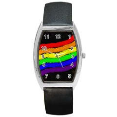 Rainbow Barrel Style Metal Watch