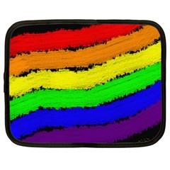 Rainbow Netbook Case (large)