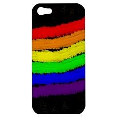 Rainbow Apple iPhone 5 Hardshell Case