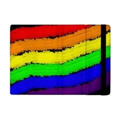 Rainbow Apple iPad Mini Flip Case