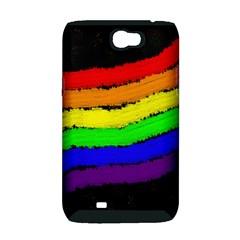 Rainbow Samsung Galaxy Note 2 Hardshell Case (PC+Silicone)