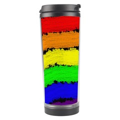 Rainbow Travel Tumbler