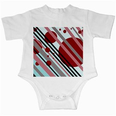 Colorful lines and circles Infant Creepers