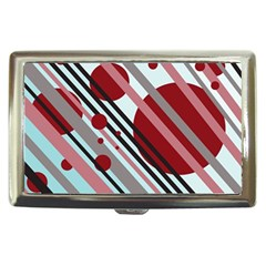 Colorful lines and circles Cigarette Money Cases