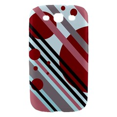 Colorful lines and circles Samsung Galaxy S III Hardshell Case
