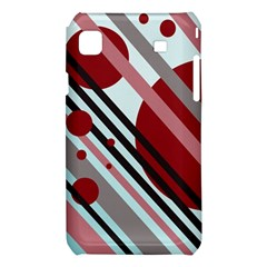Colorful lines and circles Samsung Galaxy S i9008 Hardshell Case