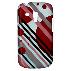 Colorful lines and circles Samsung Galaxy S3 MINI I8190 Hardshell Case