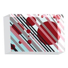 Colorful lines and circles 4 x 6  Acrylic Photo Blocks