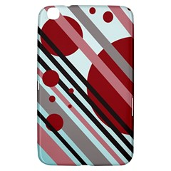 Colorful lines and circles Samsung Galaxy Tab 3 (8 ) T3100 Hardshell Case