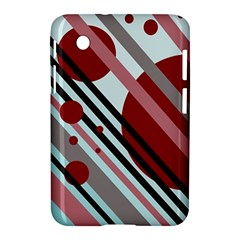 Colorful lines and circles Samsung Galaxy Tab 2 (7 ) P3100 Hardshell Case