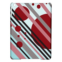Colorful lines and circles iPad Air Hardshell Cases