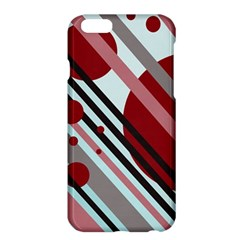 Colorful lines and circles Apple iPhone 6 Plus/6S Plus Hardshell Case