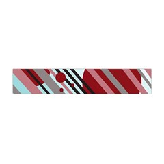 Colorful Lines And Circles Flano Scarf (mini)