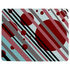 Colorful lines and circles Jigsaw Puzzle Photo Stand (Rectangular)