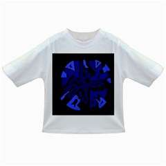Deep blue abstraction Infant/Toddler T-Shirts