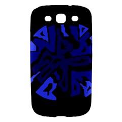 Deep blue abstraction Samsung Galaxy S III Hardshell Case