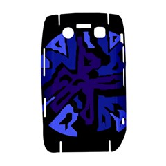 Deep blue abstraction Bold 9700