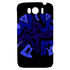 Deep blue abstraction HTC Sensation XL Hardshell Case