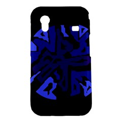 Deep blue abstraction Samsung Galaxy Ace S5830 Hardshell Case